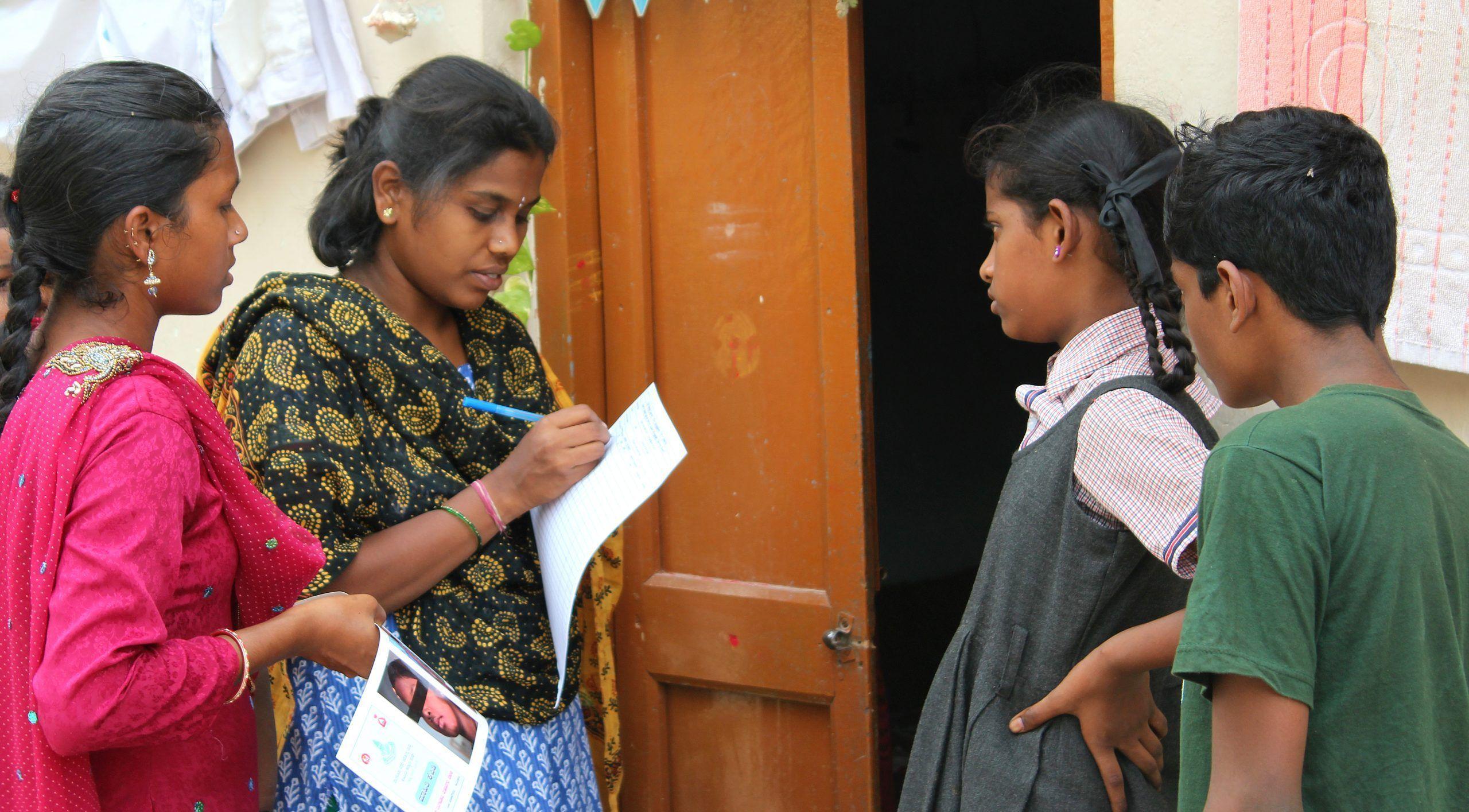 Promotoras de salud en India