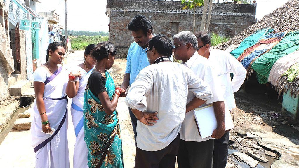 Lucha contra la lepra en el distrito de Chitoor