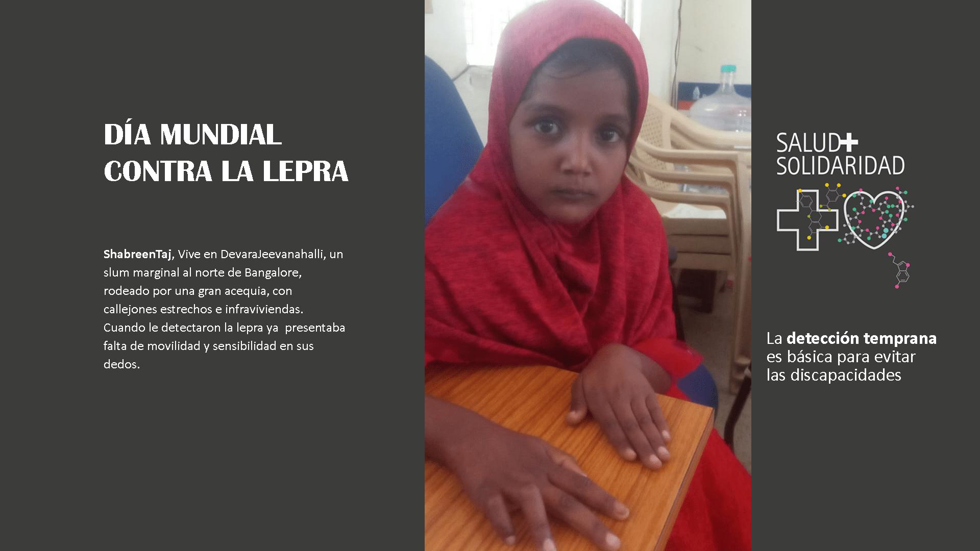 Día Mundial Lepra