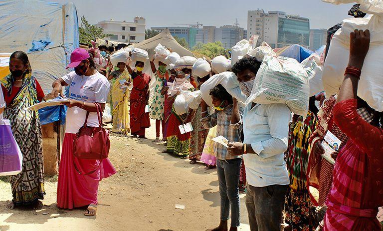 Emergencia humanitaria en India